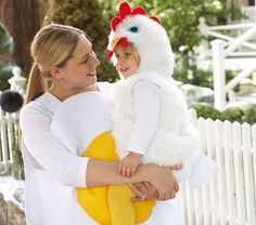 Chicken Family Costume #PotteryBarnKids