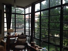 Balcony glass wall Project Site, Balcony, Divider, Windows, Mood, Glass, Wall, House, Furniture
