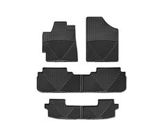 2012 2013 Toyota Highlander All Weather Floor Mats From Weathertech Available For The First Or Second Ro Volkswagen Routan Custom Car Parts Custom Car Mats