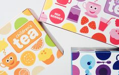 Children's Tea packaging