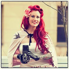 Model @cherry_liqueur One last pic from this #photoshoot in #springtime #helsinki 😍 The #beautiful #vintagecamera is a #rolleiflex from the #1950s ✨👌📷 This is the last week of #50daysofpinup #50shadesofpinup but don't worry..I'm already planning all kinds of cool stuff for the rest of this #summer and next autumn!😉😍 #staytuned #coolstuffcomingyourway Photo by the wonderfully brilliant Incog Photography💋✨✨ #Regrann