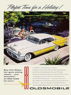 1956 Olds 98