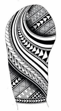 Samoan inspired sleeve tattoo design with Maori Koru shapes - Tribal Poly . - Samoan inspired sleeve tattoo design with Maori Koru shapes – Tribal Polynesian tattoos and ideas - Polynesian Tattoo Sleeve, Polynesian Tattoos Women, Polynesian Tattoo Designs, Maori Tattoo Designs, Hawaiian Tattoo, Best Tattoo Designs, Tattoo Sleeve Designs, Polynesian Art, Tribal Sleeve Tattoos