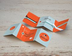 Present your mini 4-Fold Flyer with this great Mock-Ups in two easy steps.