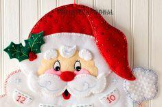 Bucilla Santa's Beard Felt Christmas Advent Calendar Kit