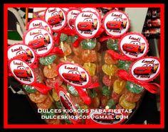 """Dulces Kioscos para Fiestas"" : Cumpleaños temático de Cars"