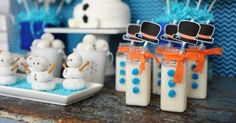 2. #Frozen Themed Food - 7 Cute #Ideas for a Disney Frozen Themed #Party ... → #Parenting [ more at http://parenting.allwomenstalk.com ]  #Cap #Food #Pieces #Olaf #Disney