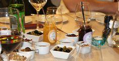 co do sera? konfitury od FIMARO, orzechy, chutney z cebuli, miód, oliwki - tysiąc różnych smaków