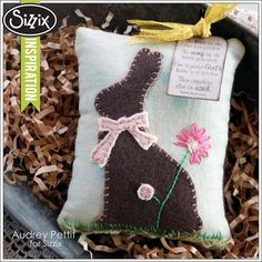 Sizzix Die Cutting Inspiration | Easter Elements Pillow Tuck by Audrey Pettit