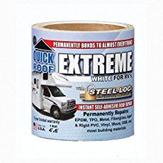 Resealing My Rv Roof With Eternabond Tape Love Your Rv Roofing Roof Roof Repair