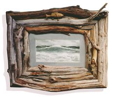 driftwood frame by nick nickerson - Driftwood Picture Frame