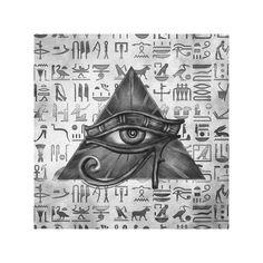 Egyptian Cat Tattoos, Egyptian Tattoo Sleeve, Egyptian Eye, Egyptian Artwork, Egyptian Beauty, Ancient Egyptian Art, Ancient Symbols, All Seeing Eye Tattoo, African Tattoo