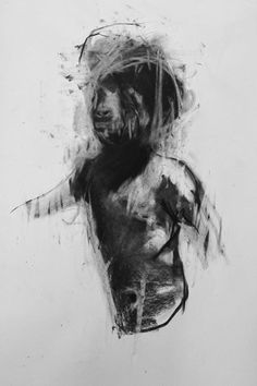 Reprobate. Charcoal on paper. 100cm x 80cm
