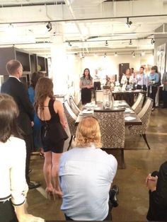 Laura Kirar about the inspirations behind her designs for Arteriors Home at the ADRIANA HOYOS showroom in the Throughout The World, Showroom, Furniture Design, Contemporary, Inspiration, Home, Style, Biblical Inspiration, Swag