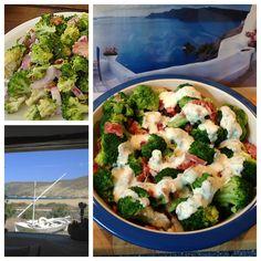 In the summertime: Salate zum Sattessen – oder – 2. Brokkoli-Salat a' la Mykonos   Lilamalerie