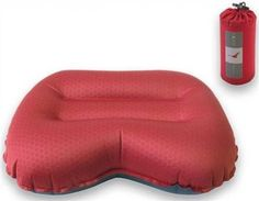 Camping Pillows - Pin It :-) Follow Us :-)) zCamping.com is your Camping Product Gallery ;) CLICK IMAGE TWICE for Pricing and Info :) SEE A LARGER SELECTION of camping pillows at  http://zcamping.com/category/camping-categories/camping-cots-beds-and-sleeping-pads/camping-pillows/ - hunting , camping, camping bed, camping gear, pillows, camping accessories -Exped (expedition Equipment) Neck Pillow – Air Pillow M – Ruby Red – X32205261 « zCamping.com