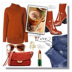 """Autumn Love"" by queenvirgo on Polyvore featuring Essie, Marc Jacobs, Joseph, rag & bone, Luv Aj and Toast"