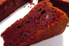 Beetroot Chocolate Cake - What a delight! Beetroot Chocolate Cake, Dip Recipes, Cooking Recipes, Beetroot Recipes, Meatloaf, Banana Bread, Side Dishes, Grilling, Roast