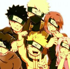 Team Minato and Team 7