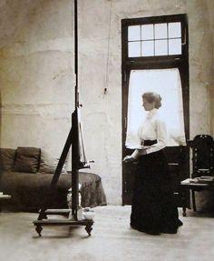 Violet Oakley, Muralist, Pennsylvania 1902