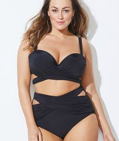 33df05f8c9c44 GabiFresh Black Bathing Suit | You're going to want to live in these  gorgeous