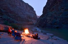 Whitewater Campsites! Pictures of a bunch of river's camp sites. WHY did I never know about this!?!