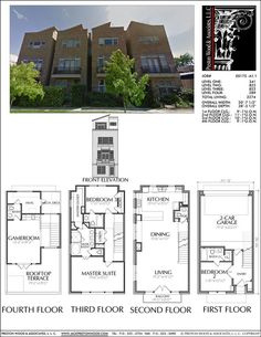 46 Best 3 BR Townhouse plan images in 2019 House floor