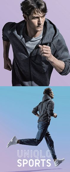 Train hard in DRY EX activewear that wicks away sweat and keeps you at the top of your game. http://uniqlo.us/2btmLdt