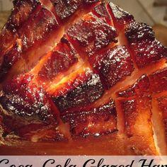 Coca-Cola Glazed Ham with Brown Sugar & Dijon