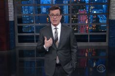 Stephen Colbert Would Change a Few Words in That Monologue