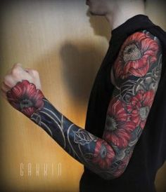 quelques-tatouages-freehand-de-themes-traditionnels-japonais-par-Gakkin-6