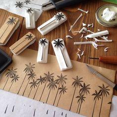 Eraser stamps. Consulta esta foto de Instagram