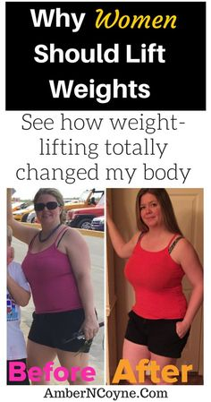 Why Women Should Lift Weights. Weight-lifting can change your body!  Weight-lifting results for women!