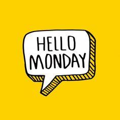 Good morning   Premium Vector #Freepik #vector #background #poster #calendar #coffee Monday Quotes, Daily Quotes, Monday Wishes, Weekday Quotes, Hello Monday, Typography Quotes, Type Design, Grafik Design, Lettering Design