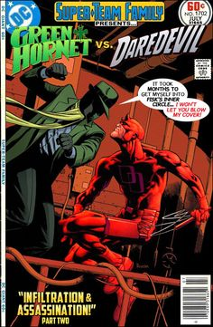 Super-Team Family: The Lost Issues! Green Hornet and Daredevil