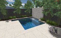 Small Swimming Pools Designed in Modern Concept - http://www.designingcity.com/small-swimming-pools-designed-modern-concept/