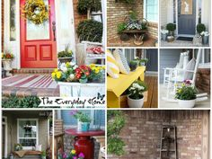 Spring Porch Decorat