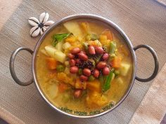 Sihi kootu is one mixed vegetable gravy which finds a regular place in our menu. I remember clipping this recipe f...