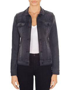 J BRAND 4004 Blacx Denim Jacket