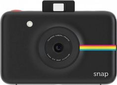 Polaroid Snap Instant Digital Camera (Black) with ZINK Zero Ink Printing Technology Nostalgic Polaroid instant photography in a modern package. Polaroid Snap is Polaroid Camera Printer, Polaroid Instant Camera, Instant Digital Camera, Instant Print Camera, Digital Cameras, Polaroid Pictures, Polaroids, Thing 1, Point And Shoot Camera