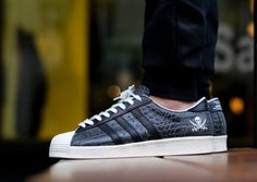 Adidas Superstar 'Crocodile Leather' x Neighborhood post image
