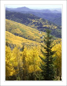View from Ski Lift, Santa Fe, NM http://www.otravezensantafe.com/