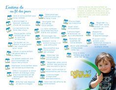 Kidissimo: 30 gestes quotidiens permettant de valoriser l'estime de soi d'un enfant.                                                                                                                                                      Plus