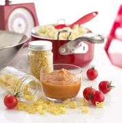 Tomato & Basil Sauce Recipe by Annabel Karmel- Love her recipes! @Rose Pendleton Pendleton Chirolo