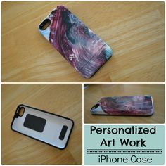 Personalize your iPhone case with your childs art work. #sponsored Get Uncommon