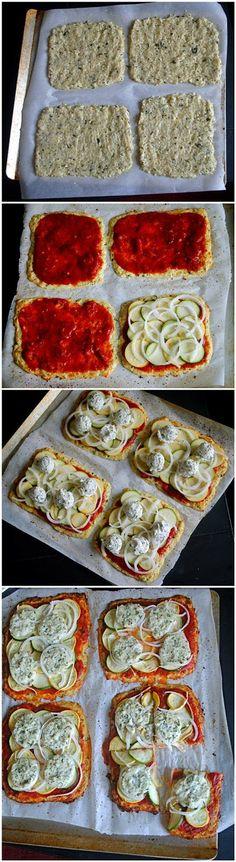 Basil Cauliflower Pizza | Cooking Blog