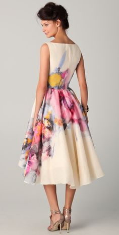This Lela Rose dress is stunning!