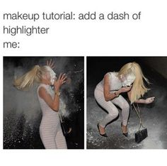Even when you *think* you followed the instructions to a T. | 21 Things People Who Love Makeup, But Suck At It, Will Understand