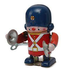 Amazon.co.jp | ビンテージ風 ねじ巻き シンバルを叩く兵隊さん ブリキ玩具 並行輸入品 | ホビー 通販