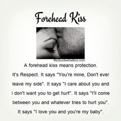 What Is The Meaning Of A Forehead Kiss